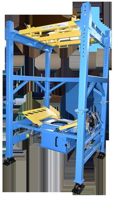 Bulk Bag Discharger with Load Cells (Model MTD 4K)