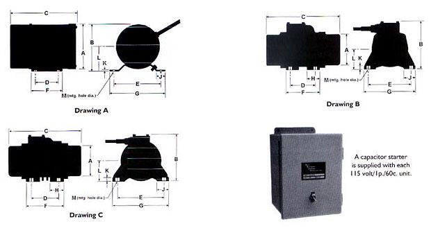 Single-Phase-3600-RPM-115V-Industrial-Vibrating-Motors