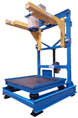 Bulk Bag Filler with Screw Jack (up)