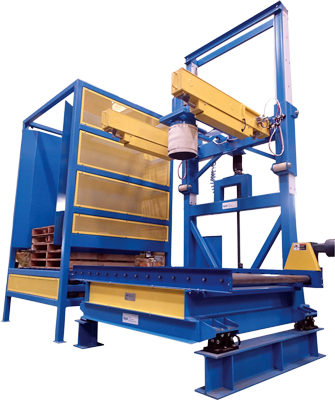 Bulk Bag Filler with Pallet Destacker