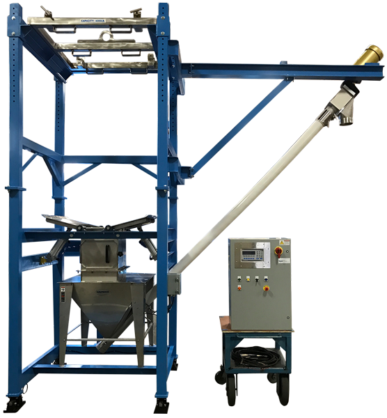 Bulk Bag Unloader with Flex Screw