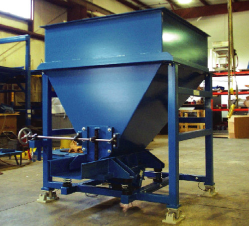 Loss-of-weight hopper feeder